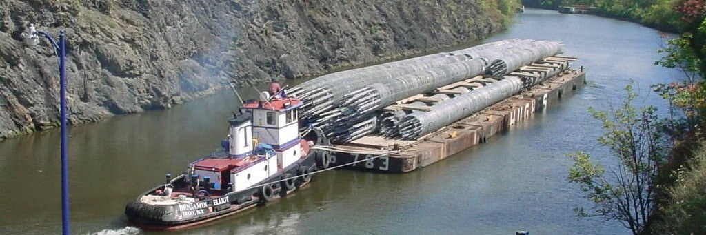 Barge Charters and Marine Barge Transportation - East Coast